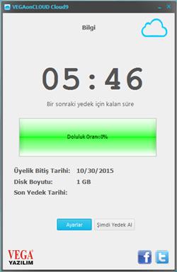 SistemR İstanbul Vega Yazılım Cloud9 Bulut Yedekleme